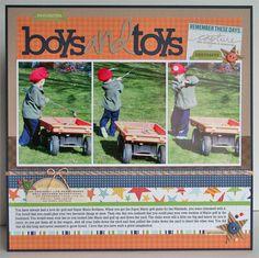 3 photo ...Boys and their toys