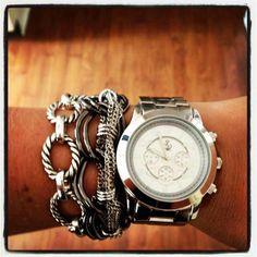 Arm Candy Linked In, Metro Chic, Boyfriend Watch, Premier Designs Jewelry Carolyn Popp Jewelry Box, Jewelery, Jewelry Accessories, Fashion Accessories, Fashion Jewelry, Gold Jewellery, Jewelry Ideas, Premier Jewelry, Premier Designs Jewelry
