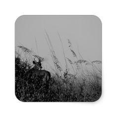 Deer in the Dark Sticker