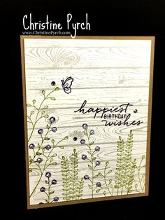 Flowering Fields - Stampin' Up!
