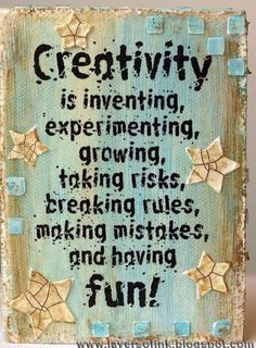 art quotes Layers of ink: Altered Wooden Blocks, made with Darkroom Door stamps, Distress Paint, Crackle Paste, Molding Paste and various stencils. Sewing Quotes, Craft Quotes, Artist Quotes, Creativity Quotes, Inspire Me, Wise Words, Me Quotes, Art Qoutes, Wisdom Quotes