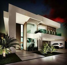 Modern Architecture Building Ideas To Inspire You nice The Argument About Modern Architecture Building Ideas To Inspire You The Modern Architecture Building Ideas To Inspire You Game Occasionally a simpler. Modern Exterior House Designs, Modern Villa Design, Dream House Exterior, Modern Architecture House, Exterior Design, Cottage Exterior, Exterior Siding, Exterior Remodel, Appartement Design