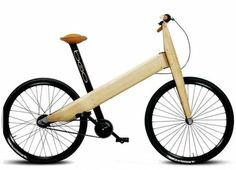 Eco friendly, bamboo bicycle