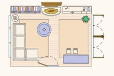 10 Ways to Lay Out a Living Room: Sample Floorplans   Apartment Therapy
