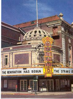 "The Strand Theatre in Shreveport, LA,opened in 1925 as a Vaudeville venue & nicknamed ""The greatest theatre of the South"" & the ""Million Dollar Theatre"" by its builders, Julian & Abraham Saenger of Shreveport. By the 1940s it had evolved into a movie cinema until its closure in 1977. Saved from demo by citizens who restored over a nearly 7 year period. The Official State Theatre of LA. Since its re-opening in 1984 it has served as a performing arts venue."