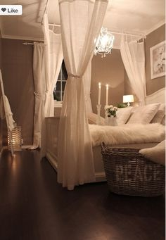 Another nice Idea for draping over a bed.