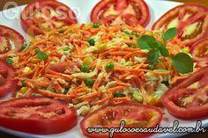 Receita de Salada de Repolho e Cenoura
