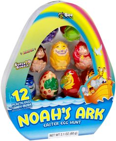 Noah's Ark Candy-Filled Easter Eggs 12ct.