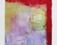 Oct. 7 2014  Original Abstract Oil Painting  by hiroshimatsumoto