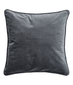 """Accent Decorative Throw Pillow Cover 100% Cotton Flocking Velvet Throw Pillow Cover Cushion Sleeve 16x16"""" (Charcoal Grey / Gray) Cushion Cover http://www.amazon.com/dp/B00ZD3YM9Y/ref=cm_sw_r_pi_dp_Bh0Evb0ND89WS"""