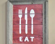 Eat signage