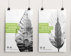 Greener Cities Poster Series on Behance