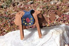 """Camel Craft - It would require quite a bit of preparation but this would be a great idea for our """"Rebecca at the Well - A Wife for Isaac"""" lesson. I might skip the the saddle... Even though it is so cute."""