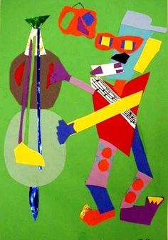 Cubist Musician, grade 5#Repin By:Pinterest++ for iPad#