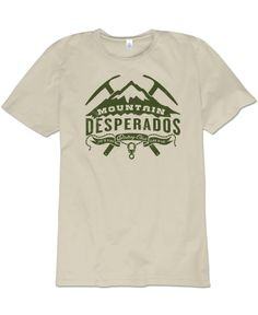 Soul Flower Pin it to Win it Contest: Desperados Men's Organic T-Shirt #faveSFtee