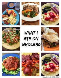 What I Ate on Whole30