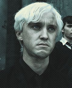 Poor Draco-the only reason he walked over was because his family was over there