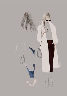 Street fashion 6 - AGATA WIERZBICKA - Lumarte - art online