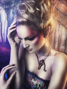 Faery by Rebeca  Saray #dreaming #pink #fantasy makeup