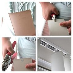 How to Fix Your Broken Vertical Blind Slats MacGyver-Style « MacGyverisms :: WonderHowTo Vertical Blind Slats, Vertical Window Blinds, Horizontal Blinds, Sheer Blinds, Diy Blinds, Blind Repair, Vinyl Mini Blinds, Ear Wax Removal Tool, Cleaning Blinds