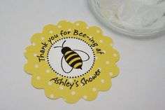 Bee Baby shower tags  by Just Scraps N Things by JustScrapsNThings, $5.00