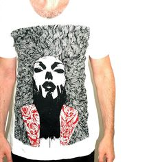 Illustrated White Grace Tshirt #mensstyle #fashion #roses #illustration #giftsforhim #summer #summerstyle #mensfashion