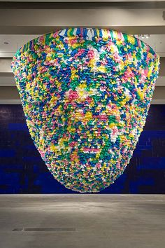 'Plastic bags' 2001–08 | Pascale Marthine Tayou by QAGOMA, via Flickr
