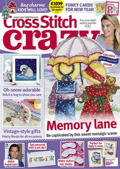 Cross Stitch Crazy issue 198, January 2015 – click here to buy a copy http://secure3.subscribeonline.co.uk/origin/products.sol?mag=CSCZ or visit your app store to download it to your tablet or smartphone!
