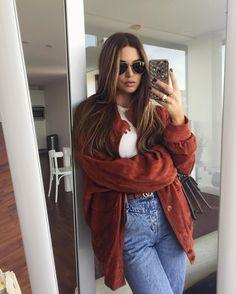 "Negin Mirsalehi on Instagram: ""Vintage jacket made my look. ♥️"""
