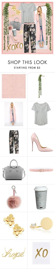 """Playin it chill"" by britt-catlynne-weatherall ❤ liked on Polyvore featuring ASOS, Aéropostale, J.Crew, Christian Louboutin, Givenchy, Orciani, Fendi, Fitz and Floyd, Kate Spade and Jennifer Zeuner"