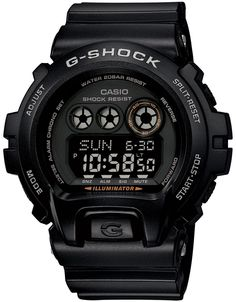 *G-Shock 6900 XL All Black