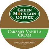 Green Mountain Coffee Caramel Vanilla Cream Keurig Kcups