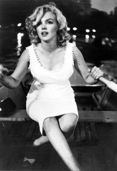 Marilyn, Sam Shaw, Central Park 1957.