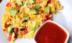 Recipe:+Skinny+Avocado+Egg+Scramble