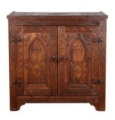 """Marocká dřevěná komoda """"Baha"""""""