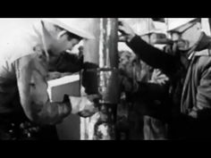 "Drilling for Oil: ""Fishing on Dry Land"" 1960 American Petroleum Institute https://www.youtube.com/watch?v=hhRcB3GdBus #oil #petroleum"