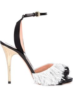 Shop Rochas fringed stiletto sandals in Laboratoria from the world's best independent boutiques at farfetch.com. Shop 300 boutiques at one address.