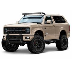 Full size Bronco concept.