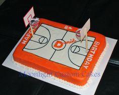 Daniel's Basketball Court  on Cake Central