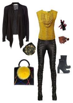 """Linda"" by nzikop on Polyvore featuring Rosemunde, A.F. Vandevorst, Balmain, G-Shock, Hunter, Les Petits Joueurs, women's clothing, women's fashion, women and female"