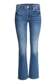 Boot cut Regular Jeans - Denim blue - Ladies | H&M CA