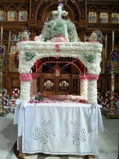 Αγια βαρβαρα Αργυρουπολι...2015 St Charbel, Orthodox Easter, Gingerbread, Religion, Icons, Traditional, Table Decorations, Art, Greece