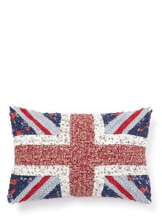 Vintage Union Jack Cushion - vintage cushions - cushions - For The Home - BHS