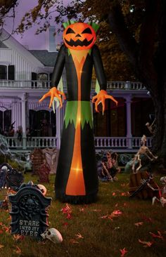 45 Inflatables Ideas Halloween Inflatables Inflatables Halloween Decorations