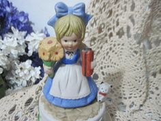 Sweet Little girl Music Box by Daysgonebytreasures on Etsy