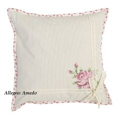 Cushion Embroidery, Floral Embroidery Patterns, Hand Embroidery Designs, Applique Designs, Monogram Pillows, Personalized Pillows, Handmade Pillows, Decorative Pillows, Diy Cushion