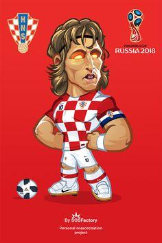 Luka Modric Caricature Football Player Drawing, Football Players Photos, Football Pictures, Soccer Players, Football Fever, Nike Football, Chibi Marvel, Barcelona Players, Team Wallpaper