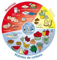 Rueda de los alimentos de la Dieta de la Zona - Enerzona - La dieta de la Zona por el Dr. Barry Sears