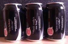 """(C)ROMANIAN EMPTY COCA-COLA ZERO, """"TELL HIM/HER WITH A SONG"""" EDITION, LIMITED, 1"""