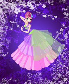 Tecna - Princess of Harmonix by Bloom2 on deviantART